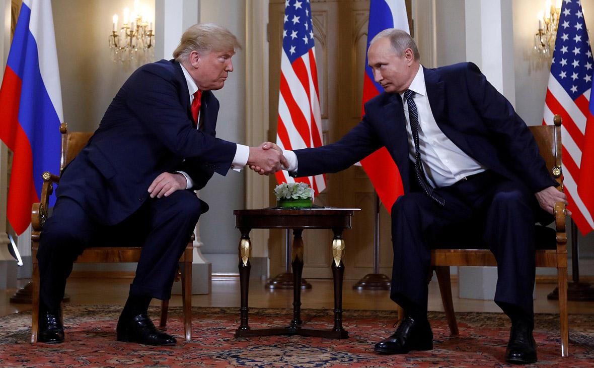 Встреча Дональда Трампа с Владимиром Путиным в Хельсинки, 2018 год