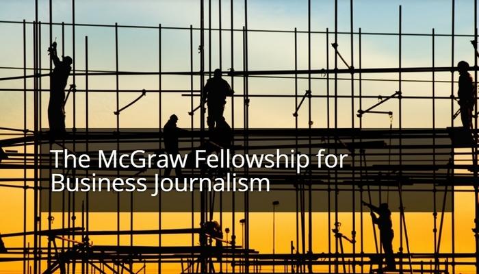 Центр деловой журналистики имени McGraw предлагает грант для журналистов