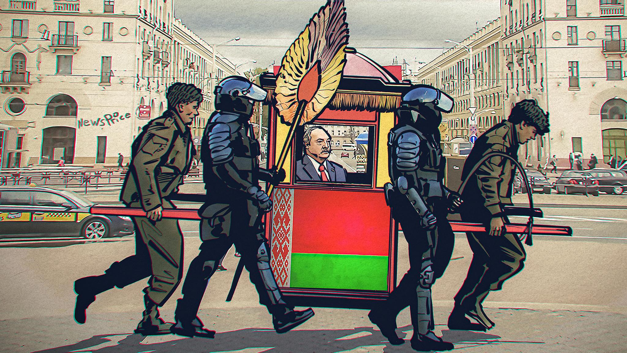 «Сидеть на штыках»: как силовики влияют на режим Лукашенко?
