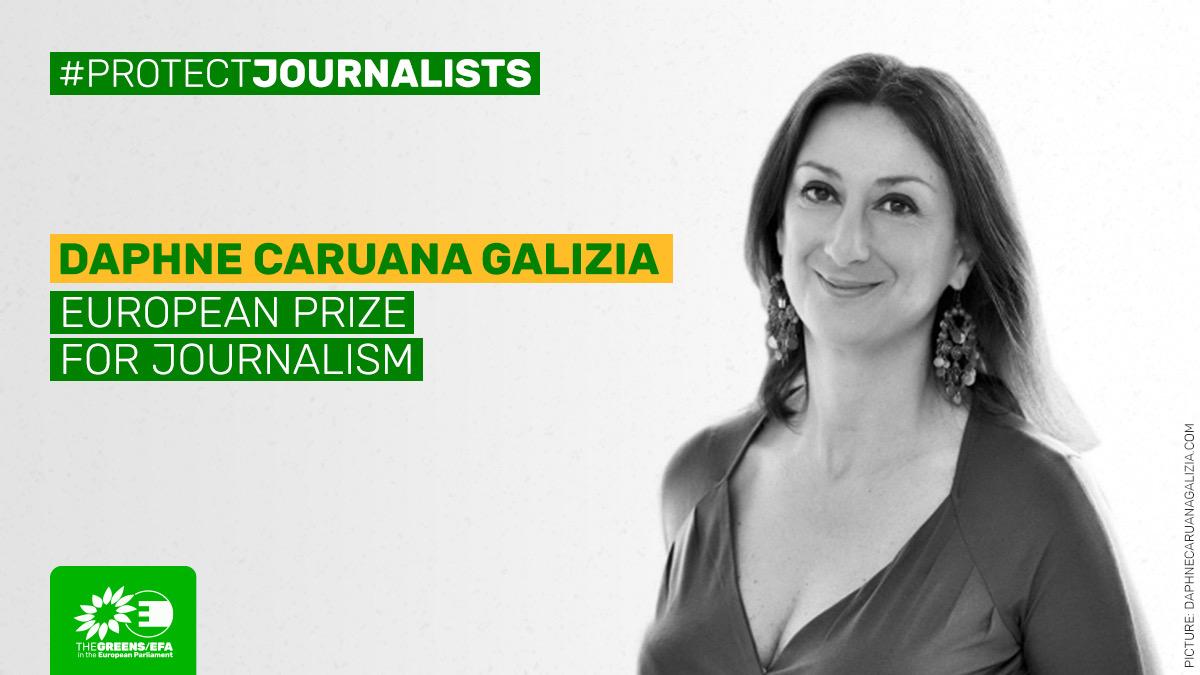 Европарламент учредил премию для репортёров-расследователей в память об убитой журналистке
