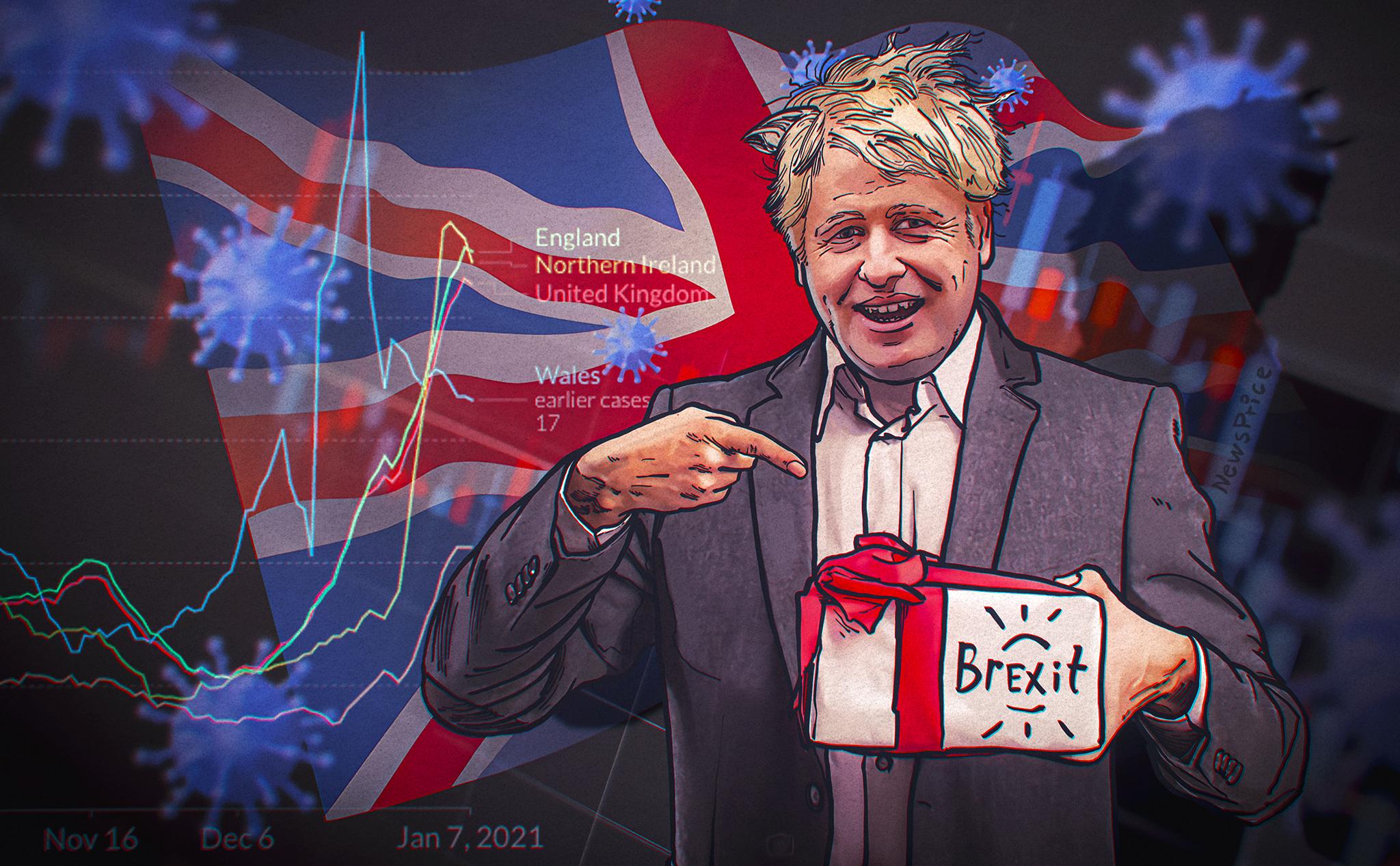 «От кризиса до кризиса»: каким стал первый год Бориса Джонсона на посту премьера Великобритании?