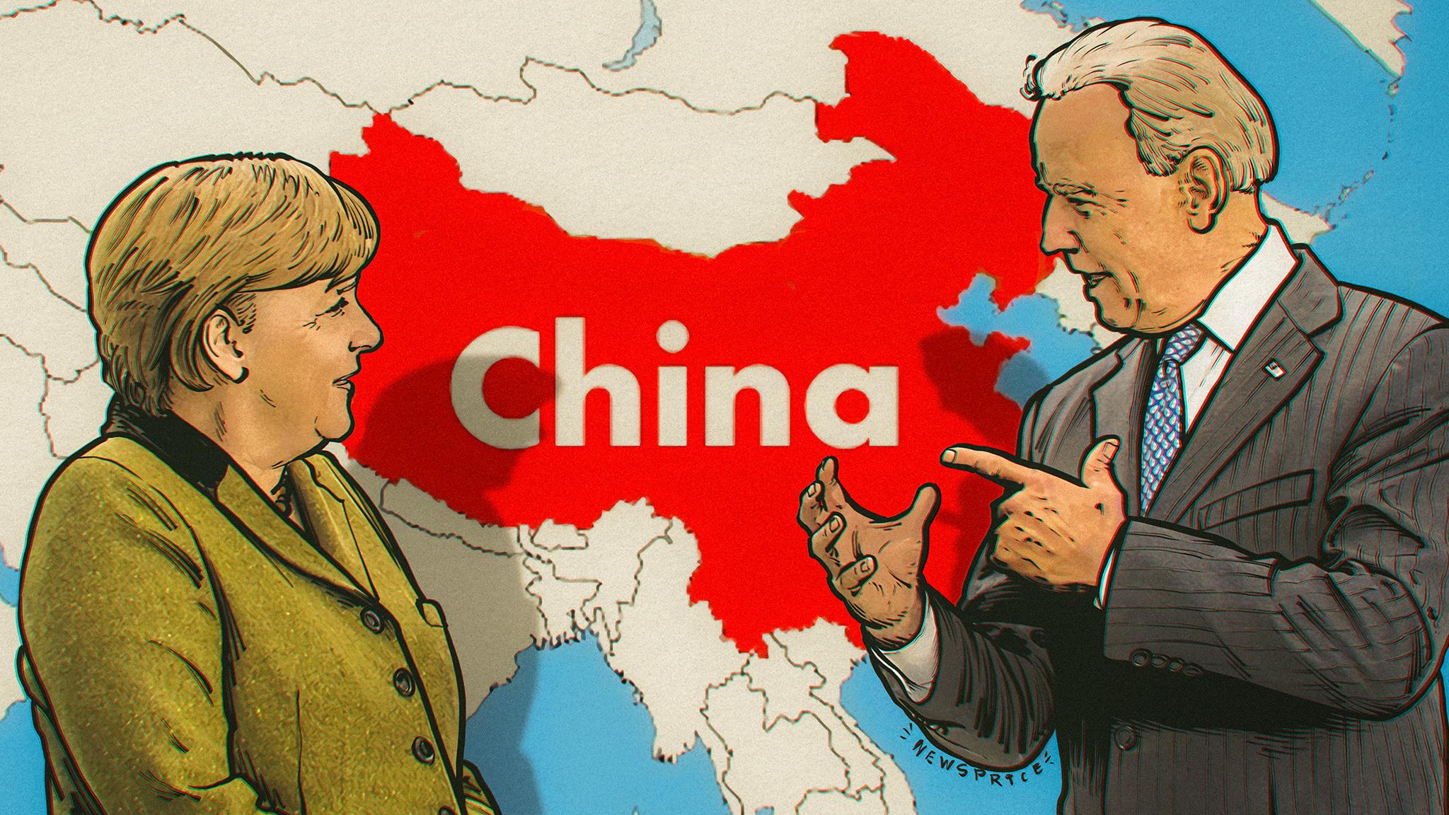 «Против общего врага»: удалось ли Джо Байдену убедить Европу присоединиться к борьбе с Китаем?