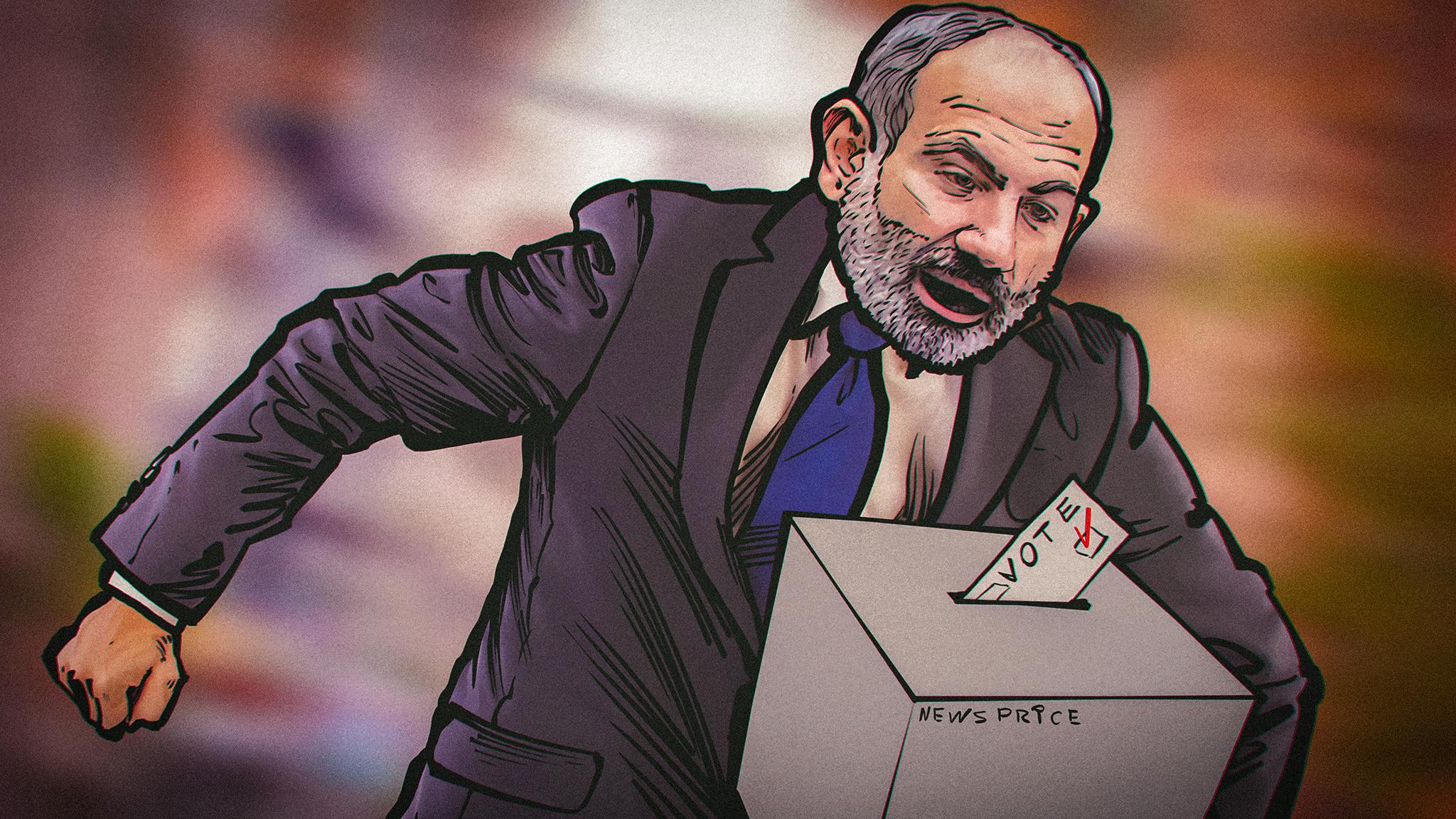 «Несмотря на войну»: почему Пашинян вновь одержал победу на парламентских выборах в Армении?