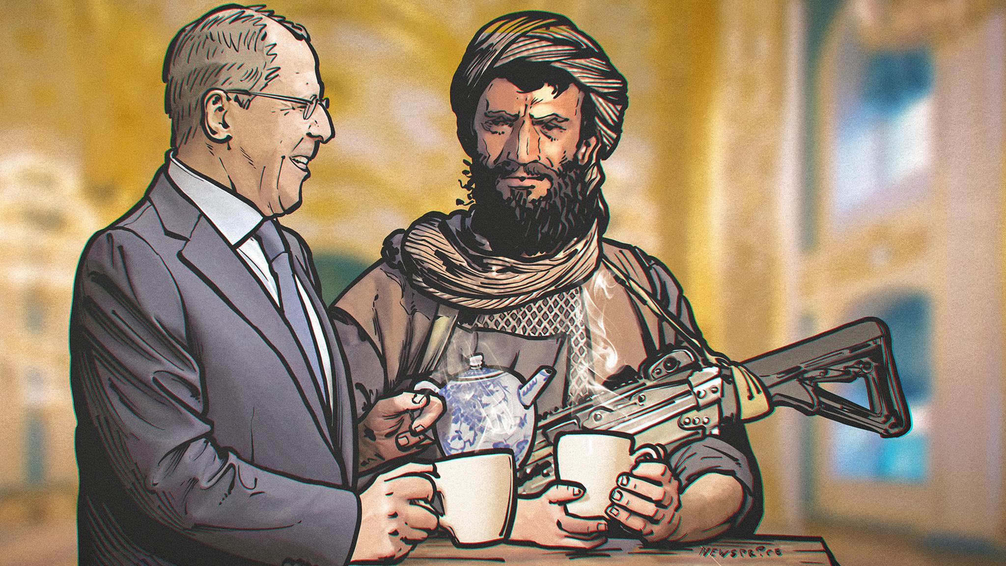 «Россия ведет переговоры с террористами»: зачем талибы приезжали в Москву?